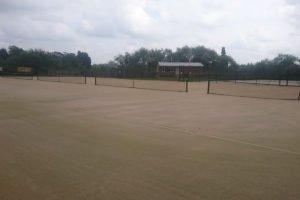 Pocklington Tennis Club court refurbishment