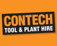 The logo for ConTech, sponsors of Pocklington Tennis Club