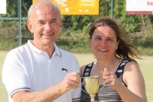 Richard Hart & Melinda Watson, Horsley Trophy winners 2017
