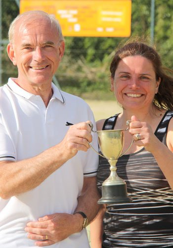 Richard Hart & Melinda Watson, Horsley Trophy winners 2017