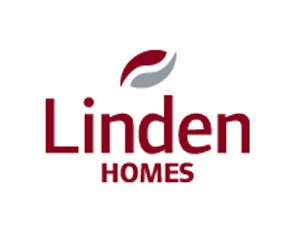 The logo for Linden Homes, sponsors of Pocklington Tennis Club