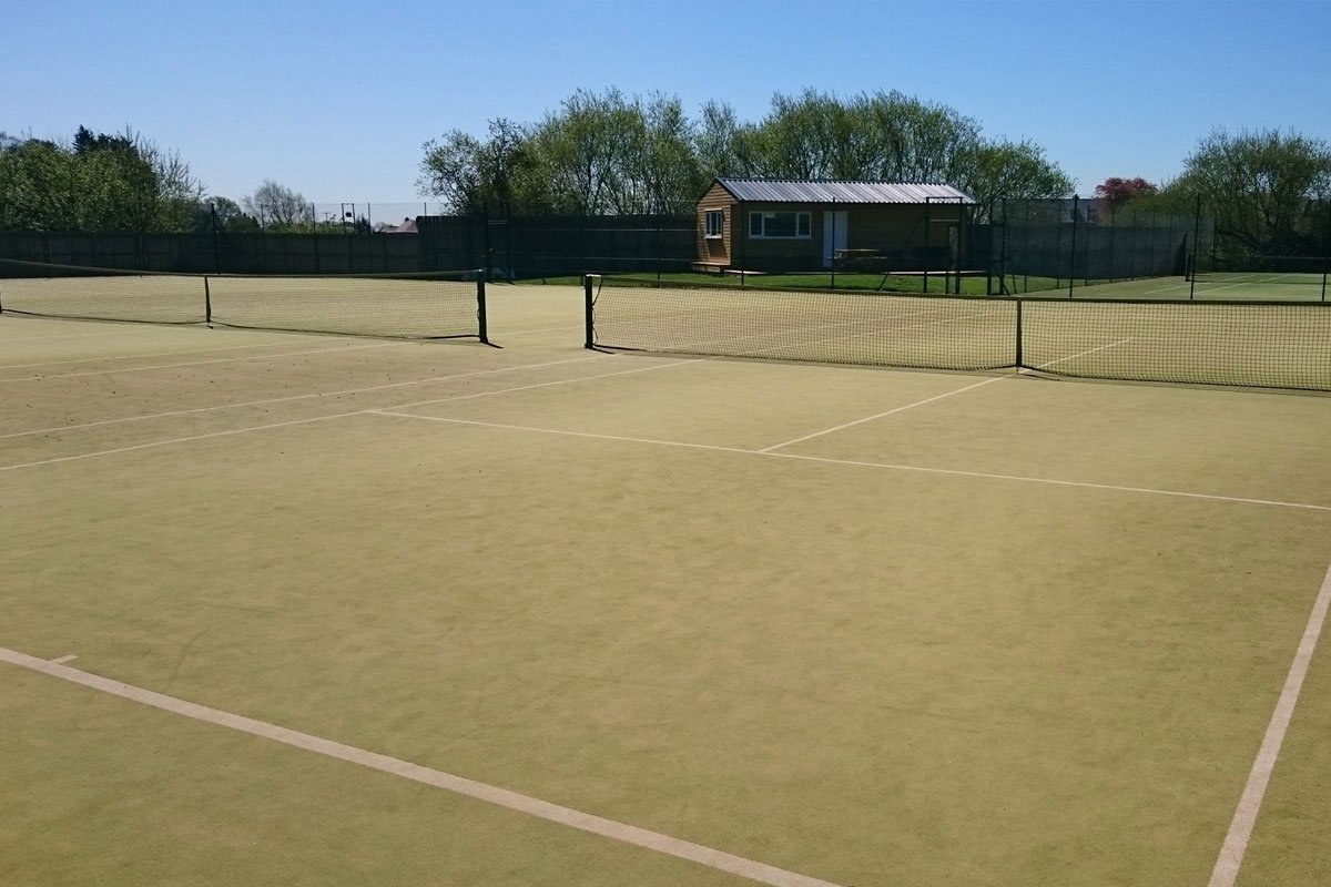 Pocklington Tennis Club in 2015