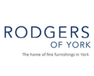 The logo for Rodgers Of York, sponsors of Pocklington Tennis Club