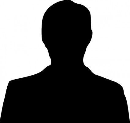 Silhouette of Pocklington Tennis Club committee member