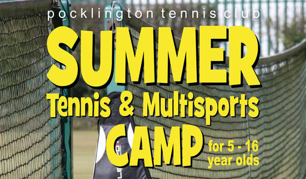 Summer Tennis & Multisports Camp 2017