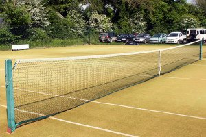 Tennis courts at Pocklington Tennis Club