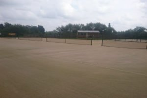 Pocklington Tennis Club court refurbishment