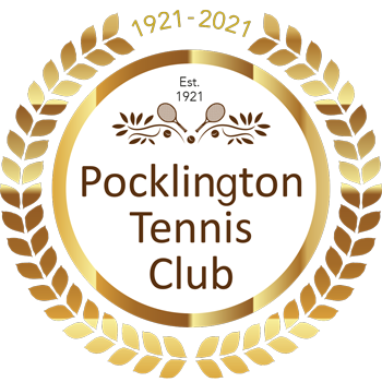 Pocklington Tennis Club centenary logo