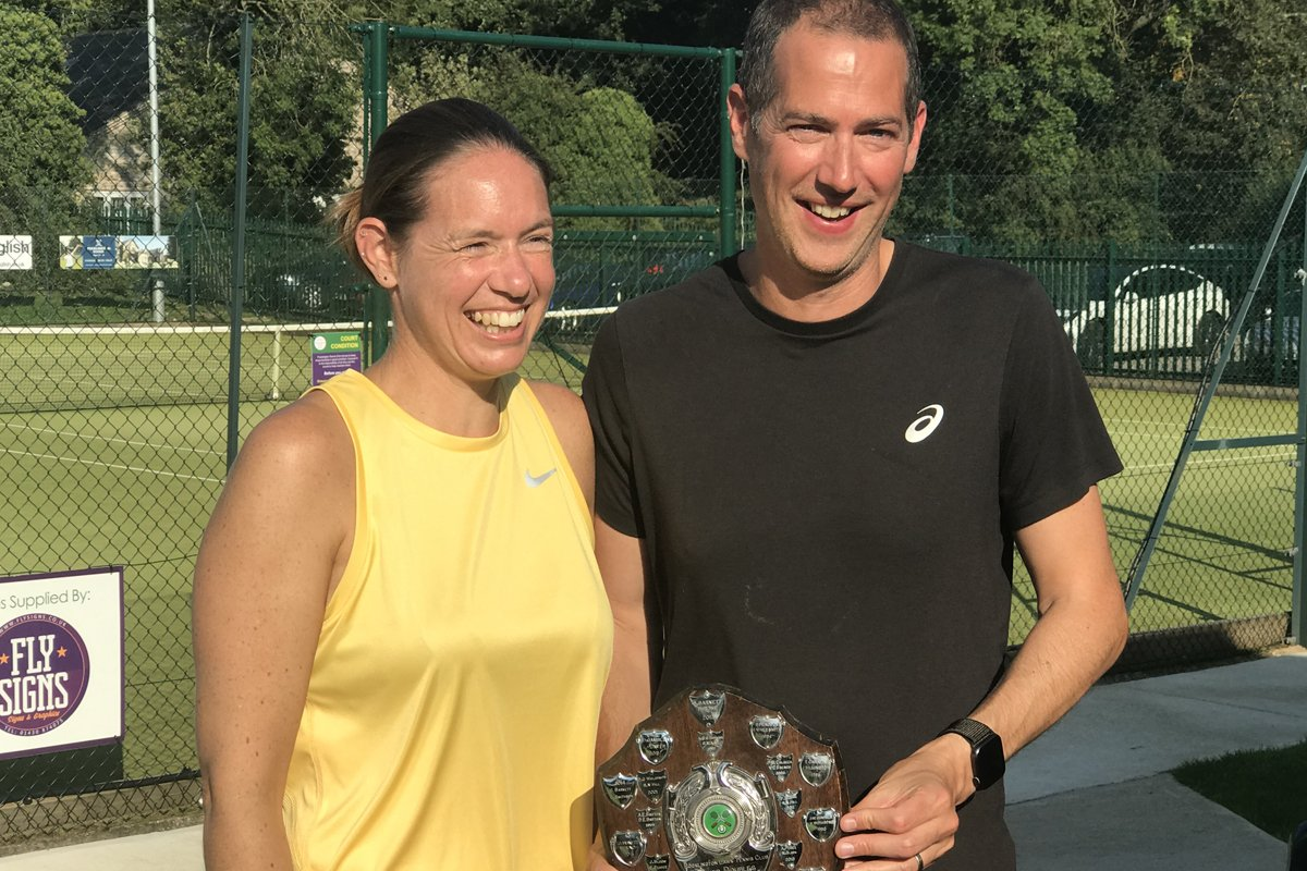 Matt Ralphs and Sue Ralphs, Mixed Plate Winners 2020
