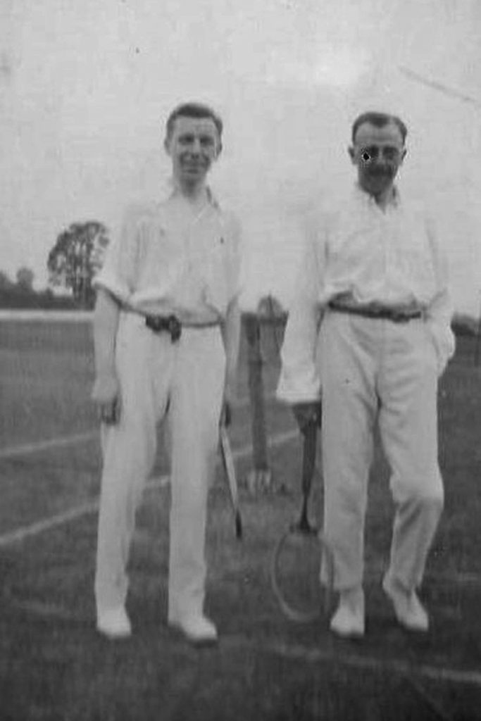 Historic image from Pocklington Tennis Club