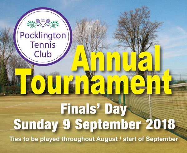 Annual Tournament 2018