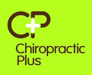 The logo for Chiropractic Plus, sponsors of Pocklington Tennis Club