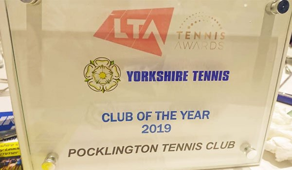 Yorkshire Tennis Club of the Year 2019