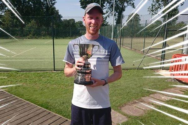 Dave Thompson Men's singles competition winner 2019