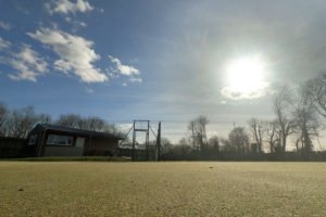 Court level view of Pocklington Tennis Club