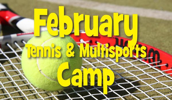February 2020 tennis camp