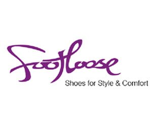 The logo for Footloose, sponsors of Pocklington Tennis Club
