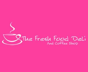 The logo for The Fresh Food Deli, sponsors of Pocklington Tennis Club