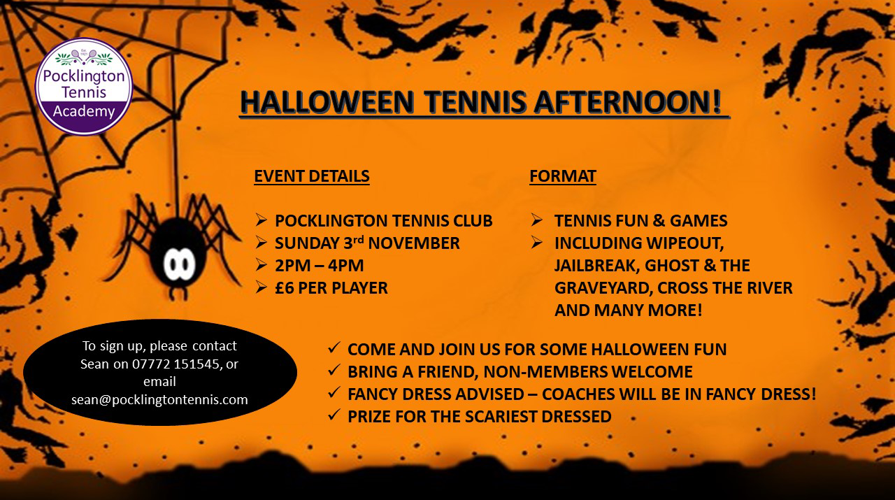 A fun games afternoon with lots of tennis games, lots of prizes to be won and plenty of fun!