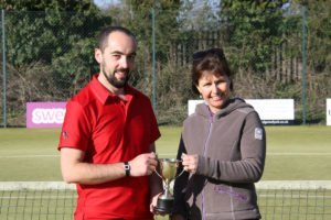 Winners of the Horsley Trophy 2016, Stuart Barnett & Lisa Eade