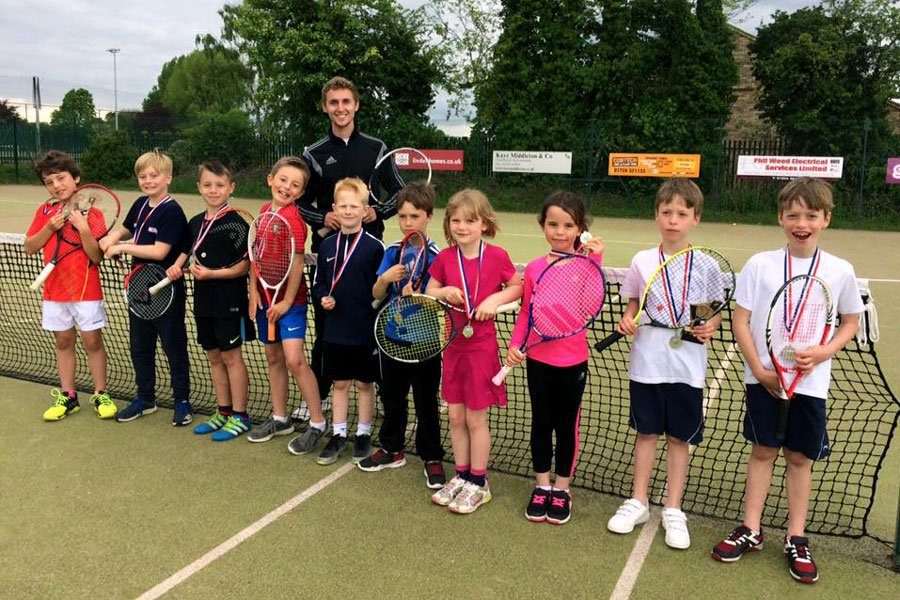 Junior tennis at Pocklington Tennis Club