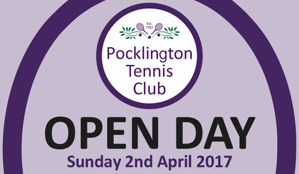 Pocklington Tennis Club open day 2017