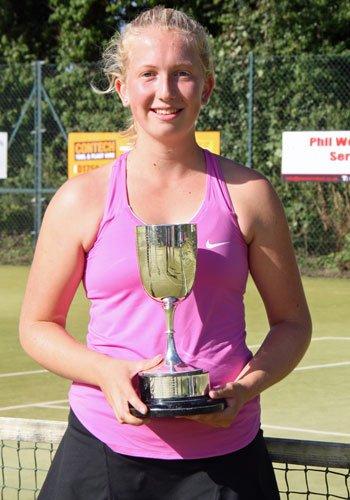 Rebecca Hill - Ladies Singles Champion 2016