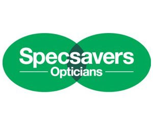 The logo for Specsavers, sponsors of Pocklington Tennis Club