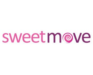 The logo for Sweetmove Estate agents, sponsors of Pocklington Tennis Club