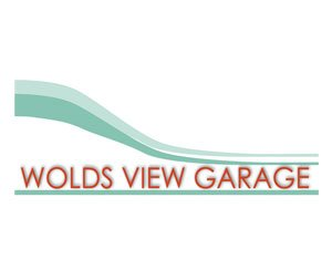 The logo for Wolds View Garage, sponsors of Pocklington Tennis Club